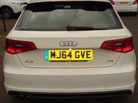 USED 2014 64 AUDI A3 2.0 TDI S Line 5dr £20 RD TAX*MEDIA*BLUETOOTH*S-LINE REFINEMENTS