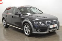 USED 2010 10 AUDI A4 ALLROAD 2.0 TDI QUATTRO 5d 170 BHP PRIVACY GLASS + FULL HISTORY + 2 KEYS + ONLY 2 OWNERS