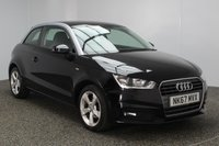 USED 2017 67 AUDI A1 1.0 TFSI SPORT 3DR 93 BHP 1 OWNER HEATED HALF LEATHER SEATS + PARKING SENSOR + BLUETOOTH + CRUISE CONTROL + MULTI FUNCTION WHEEL + DAB RADIO + AIR CONDITIONING + ELECTRIC WINDOWS + RADIO/CD + ELECTRIC MIRRORS + 16 INCH ALLOY WHEELS