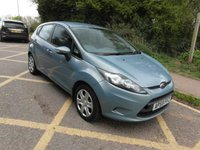 USED 2010 59 FORD FIESTA 1.4 Auto Edge 5 door Petrol Automatic 2 owners from new. Low mileage.