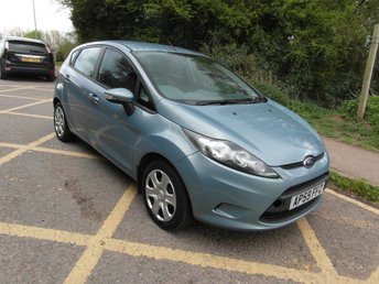 2010 FORD FIESTA 1.4 Auto Edge 5 door Petrol Automatic £4995.00