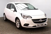 USED 2017 17 VAUXHALL CORSA 1.4 ENERGY AC ECOFLEX 5DR FULL SERVICE HISTORY 1 OWNER £30 ROAD TAX FULL SERVICE HISTORY + £30 12 MONTHS ROAD TAX + BLUETOOTH + CRUISE CONTROL + HEATED SEATS + HEATED STEERING WHEEL + AIR CONDITIONING + ELECTRIC WINDOWS + RADIO/CD/USB + ELECTRIC MIRRORS + 16 INCH ALLOY WHEELS