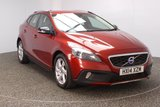 USED 2014 14 VOLVO V40 1.6 D2 CROSS COUNTRY LUX 5DR 113 BHP FREE ROAD TAX LEATHER SEATS + BLUETOOTH + PARKING SENSOR + CRUISE CONTROL + MULTI FUNCTION WHEEL + CLIMATE CONTROL + XENON HEADLIGHTS + MULTI FUNCTION WHEEL + DAB RADIO + ELECTRIC WINDOWS + ELECTRIC MIRRORS + 17 INCH ALLOY WHEELS