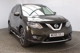 USED 2015 65 NISSAN X-TRAIL 1.6 DCI TEKNA PAN ROOF 7 SEATS 1 OWNER LEATHER DIESEL 7 SEATS + HEATED LEATHER SEATS + SATELLITE NAVIGATION + AROUND VIEW MONITOR + ELECTRIC PANORAMIC ROOF + BLUETOOTH + CRUISE CONTROL + CLIMATE CONTROL + MULTI FUNCTION WHEEL + PRIVACY GLASS + DAB RADIO + SIDE STEPS + XENON HEADLIGHTS + ELECTRIC WINDOWS + 19 INCH ALLOY WHEELS