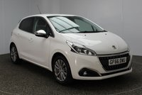 USED 2016 66 PEUGEOT 208 1.2 S/S ALLURE 5DR AUTO 82 BHP FREE ROAD TAX SERVICE HISTORY + FREE 12 MONTHS ROAD TAX + PARKING SENSOR + BLUETOOTH + CRUISE CONTROL + MULTI FUNCTION WHEEL + DAB RADIO + XENON HEADLIGHTS + AIR CONDITIONING + ELECTRIC WINDOWS + ELECTRIC MIRRORS + 16 INCH ALLOY WHEELS