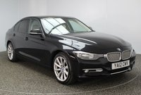 USED 2012 12 BMW 3 SERIES 2.0 320D MODERN 4DR 184 BHP £30 ROAD TAX BMW SERVICE HISTORY + £30 12 MONTHS ROAD TAX + HEATED LEATHER SEATS + SATELLITE NAVIGATION PROFESSIONAL + PARKING SENSOR + BLUETOOTH + CRUISE CONTROL + CLIMATE CONTROL + MULTI FUNCTION WHEEL + RADIO/CD/AUX/USB + 18 INCH ALLOY WHEELS