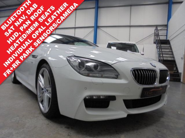 2014 64 BMW 6 SERIES 3.0 640D M SPORT 2d AUTO 309 BHP
