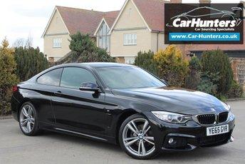 2015 BMW 4 SERIES 2.0 420D M SPORT 2d AUTO 188 BHP £17995.00