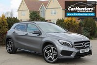 "USED 2015 65 MERCEDES-BENZ GLA-CLASS 2.1 GLA 220 D 4MATIC AMG LINE PREMIUM PLUS 5d AUTO 174 BHP PAN ROOF REAR CAM SAT NAV 19""s"