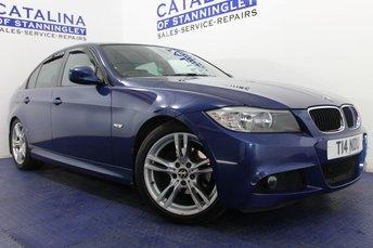 2011 BMW 3 SERIES 2.0 318D M SPORT 4d 141 BHP £7550.00
