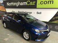 USED 2016 65 TOYOTA AURIS 1.4 D-4D ACTIVE TOURING SPORTS 5d 89 BHP