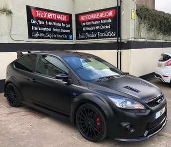 2010 FORD FOCUS RS500 2.5 3DR MOUNTUNE MR375, FULL SERVICE HISTORY. £51995.00