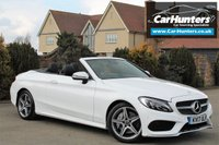 USED 2017 17 MERCEDES-BENZ C CLASS 2.1 C 250 D AMG LINE PREMIUM PLUS 2d AUTO 201 BHP RED ROOF COMMAND BURMESTER AIR SCARF