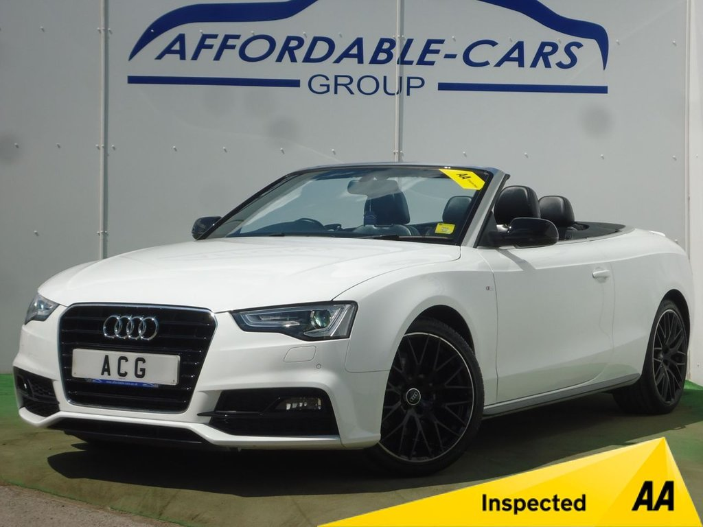 USED 2016 16 AUDI A5 1.8 TFSI S LINE SPECIAL EDITION PLUS 2d 175 BHP
