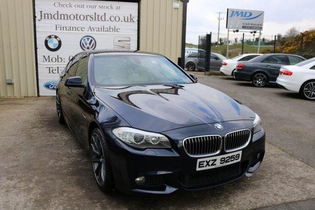 2012 BMW 5 SERIES 520D M SPORT  AUTO 181 BHP (WARRANTY & FINANCE)