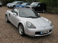 USED 2000 W TOYOTA MR2 1.8 ROADSTER SOFT TOP 2d 138 BHP