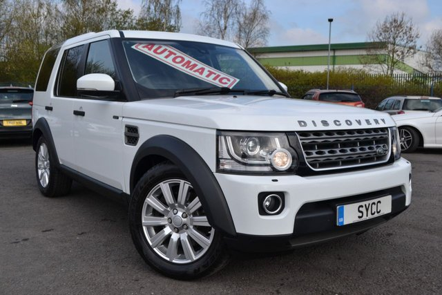 USED 2015 15 LAND ROVER DISCOVERY 3.0 SDV6 COMMERCIAL XS 5d AUTO 255 BHP 1 COMPANY DIRECTOR OWNER FROM NEW ~ BLACK LEATHER ~ SAT NAV