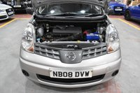 USED 2008 08 NISSAN NOTE 1.4 VISIA 5d 88 BHP