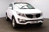 USED 2012 12 KIA SPORTAGE 1.6 2 5DR 133 BHP FULL SERVICE HISTORY FULL SERVICE HISTORY + HALF LEATHER SEATS + PANORAMIC ROOF + PARKING SENSOR + BLUETOOTH + CRUISE CONTROL + MULTI FUNCTION WHEEL + CLIMATE CONTROL + PRIVACY GLASS + XENON HEADLIGHTS + RADIO/CD/AUX/USB + ELECTRIC WINDOWS + ELECTRIC MIRRORS + 17 INCH ALLOY WHEELS