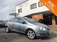 USED 2008 08 VAUXHALL CORSA 1.2 BREEZE 3d 80 BHP ALLOY WHEELS | REMOTE LOCKING | ELECTRIC WINDOWS | CD PLAYER | AUX
