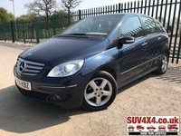 USED 2007 56 MERCEDES-BENZ B CLASS 2.0 B200 SE 5d 135 BHP ALLOYS SUNROOF CLIMATE SH MOT 09/19 SUNROOF. BLUE MET WITH BLACK CLOTH TRIM. 16 INCH ALLOYS. COLOUR CODED TRIMS. CLIMATE CONTROL. R/CD PLAYER. MFSW. MOT 09/19. AGE/MILEAGE RELATED SALE. PART EXCHANGE CLEARANCE CENTRE - LS23 7FQ. TEL 01937 849492 OPTION 4
