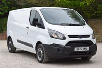 USED 2015 15 FORD TRANSIT CUSTOM 2.2 290 LR P/V 5d 99 BHP