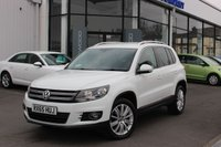 2015 VOLKSWAGEN TIGUAN 2.0 TDI BlueMotion Tech Match Edition DSG 4MOTION (s/s) 5dr £12931.00