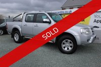 USED 2008 FORD RANGER 2.5 THUNDER 4X4 D/C 1d 141 BHP DIESEL SILVER