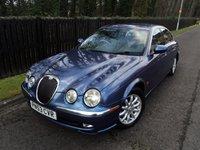 2003 JAGUAR S-TYPE 2.5 V6 SE 4d AUTO 201 BHP £1988.00