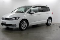 USED 2017 17 VOLKSWAGEN TOURAN 2.0 SEL TDI BLUEMOTION TECHNOLOGY DSG 5d AUTO 187 BHP