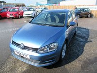 2014 VOLKSWAGEN GOLF 1.6 MATCH TDI BLUEMOTION TECHNOLOGY DSG 5d AUTO 103 BHP £8995.00