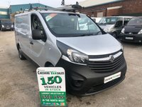 2015 VAUXHALL VIVARO 1.6 2700 L1H1 ECOFLEX 89 BHP 1 OWNER FROM NEW FULL SERVICE HISTORY £7495.00