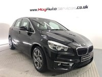 2015 BMW 2 SERIES 1.5 216D LUXURY ACTIVE TOURER 5d 114 BHP *SAT NAV* *LOW EMISSIONS + £0 ROAD TAX* £12495.00