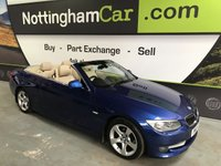 USED 2010 10 BMW 3 SERIES 3.0 325D SE 2d AUTO 202 BHP