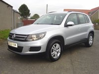 2012 VOLKSWAGEN TIGUAN 2.0 S TDI BLUEMOTION TECHNOLOGY 4MOTION 5d 138 BHP £8250.00