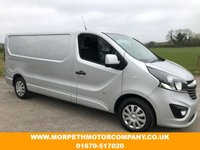 USED 2016 16 VAUXHALL VIVARO 1.6 2900 L1H1 CDTI P/V SPORTIVE 1d 118 BHP **ONE RECORDED KEEPER,£9995 NO VAT**