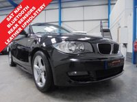 "USED 2010 10 BMW 1 SERIES 2.0 118I SPORT 2d 141 BHP Low Mileage, Comprehensive Service History, Black Boston Leather, Satellite Navigation, Bluetooth Hands Free, Rear Parking Sensors, Tyre Pressure Sensors, Automatic Dual Zone Air Conditioning, Traction Control, 17"" Alloys"