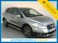 USED 2016 66 SUZUKI SX4 S-CROSS 1.6 SZ-T 5d AUTO 118 BHP FULL SUZUKI HISTORY - 1 OWNER - SAT NAV - REAR CAMERA - PARKING SENSORS - BLUETOOTH - AIR CON - CRUISE
