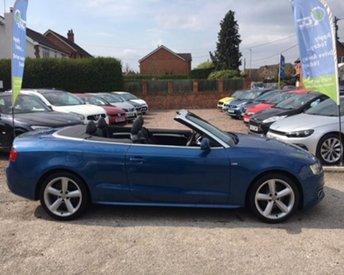 2011 AUDI A5 2.0 TDI S LINE 2d 168 BHP £12995.00