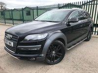 USED 2007 07 AUDI Q7 3.0 TDI QUATTRO LIMITED EDITION 5d AUTO 234 BHP ALLOYS SATNAV LEATHER PRIVACY CRUISE A/C MOT 10/19 SATELLITE NAVIGATION. 4WD. 7 SEATS. STUNNING BLACK MET WITH FULL BEIGE LEATHER S/LINE TRIM. ELECTRIC HEATED SEATS. CRUISE CONTROL. SIDE STEPS. 20 INCH BLACK ALLOYS. COLOUR CODED TRIMS. PRIVACY GLASS. PARKING SENSORS. BLUETOOTH PREP. MEDIA SCREEN. CLIMATE CONTROL. R/CD/MP3 PLAYER. MFSW. MOT 10/19. SERVICE HISTORY. AGE/MILEAGE RELATED SALE. PRESTIGE SUV CENTRE - LS24 8EJ. TEL 01937 849492 OPTION 1
