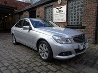 2011 MERCEDES-BENZ C CLASS 2.1 C220 CDI BLUEEFFICIENCY SE EDITION 125 4d AUTO 170 BHP £6995.00