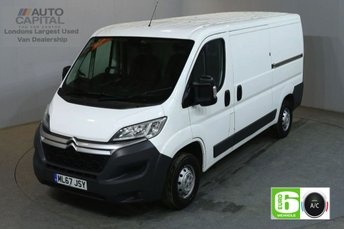 2017 CITROEN RELAY 2.0 35 L2H1 ENTERPRISE BLUEHDI 129 BHP MWB L/ROOF AIR CON EURO 6 £11990.00
