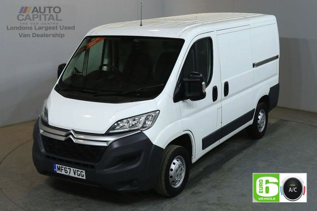 2017 67 CITROEN RELAY 2.0 33 L1H1 ENTERPRISE BLUEHDI 129 BHP SWB L/ROOF EURO 6 AIR CON BLUETOOTH CRUISE AND SAT NAV