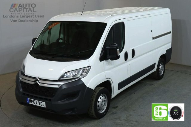 2017 67 CITROEN RELAY 2.0 35 L2H1 ENTERPRISE BLUEHDI 129 BHP MWB L/ROOF AIR CON EURO 6 SAT NAV BLUETOOTH AND CRUISE