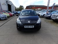 USED 2010 59 RENAULT CLIO 1.2 EXTREME 3d 74 BHP NEW MOT, SERVICE & WARRANTY