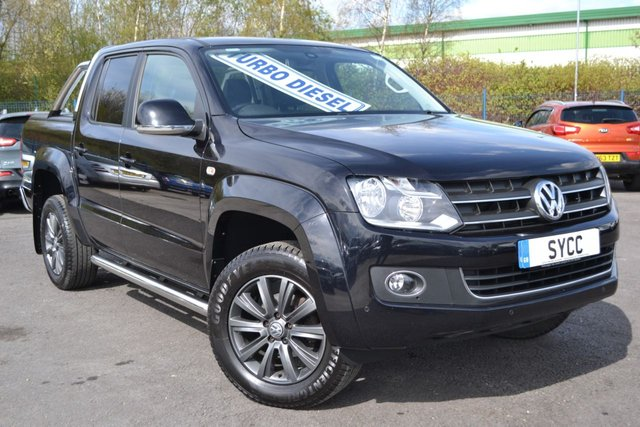 USED 2016 D VOLKSWAGEN AMAROK 2.0 DC TDI HIGHLINE 4MOTION 5d AUTO 180 BHP ~ ROLLER SHUTTER ~ BARS ROLLER SHUTTER BACK ~ REAR CHROME BARS ~ SAT NAV ~ 6 MONTHS WARRANTY