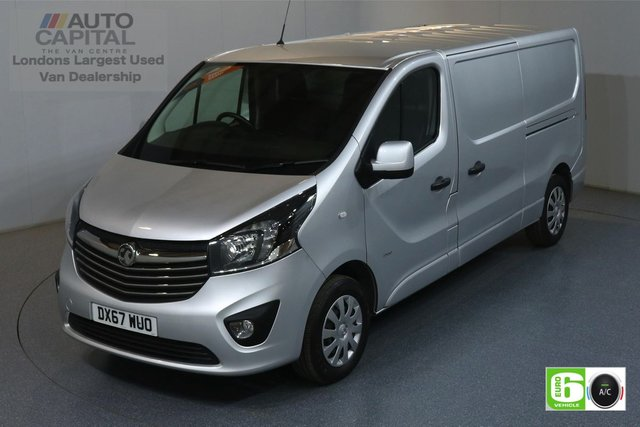 2017 67 VAUXHALL VIVARO 1.6 L2H1 2900 SPORTIVE 120 BHP EURO 6 ENGINE AIR CON, REAR PARKING SENSORS