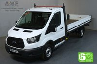 USED 2018 67 FORD TRANSIT 2.0 350 L4 EXTRA LWB 129 BHP EURO 6 ENGINE DROPSIDE MANUFACTURER WARRANTY UNTIL 17/01/2021