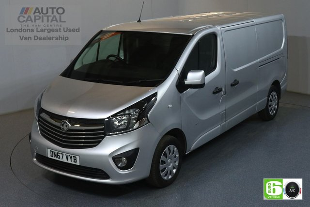 2017 67 VAUXHALL VIVARO 1.6 L2H1 LWB 2900 SPORTIVE 120 BHP EURO 6 ENGINE AIR CON, REAR PARKING SENSORS