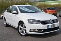 USED 2011 11 VOLKSWAGEN PASSAT 2.0 SE TDI BLUEMOTION TECHNOLOGY 4d 139 BHP SAT NAV STUNNING CAR ~ SAT NAV ~ 2 KEYS ~ FULL SERVICE RECORDS ~ 6M WARRANTY